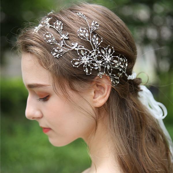 Filles Beau Cristal/Strass/Alliage/Perles Bandeaux (Vendu dans une seule pièce)