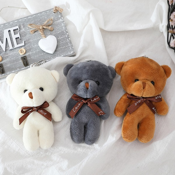 Classic Søde Bear Plush Kreative Gaver (sæt af 12)
