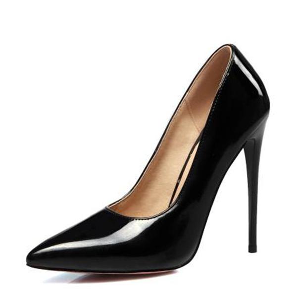 De mujer Piel brillante Tacón stilettos Salón Cerrados con Otros zapatos
