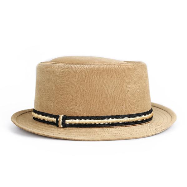 Menn Glamorøse/Klassisk stil Polyester Fedora Hat/Panama Hat