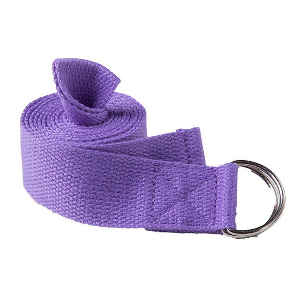 Simple Polyester Cotton Yoga Stretch Strap