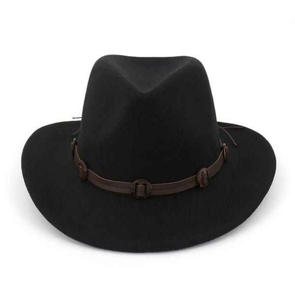 Unisexe Glamour Feutre Chapeau Fedora