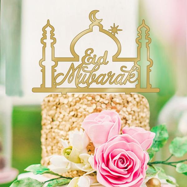 Religieux/Style Classique Acrylique Décoration pour gâteaux (Vendu dans une seule pièce)