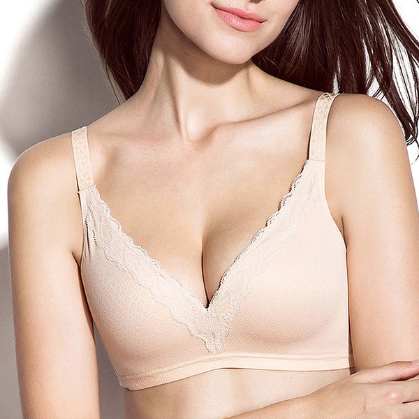 Classic Chinlon/Nylon Wireless Bra
