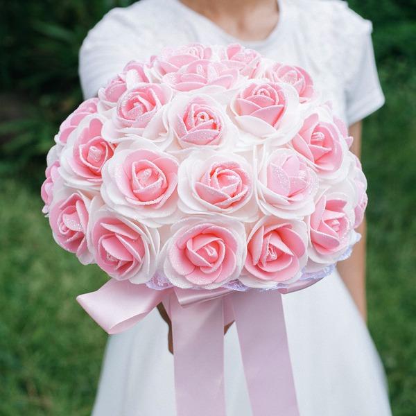 Round PE Bridal Bouquets -