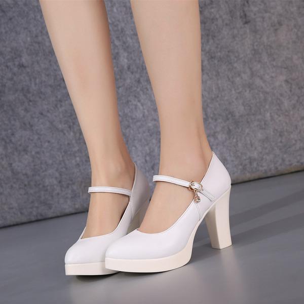 Femmes Similicuir Talons Chaussures de Caractère Chaussures de danse