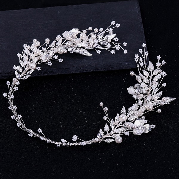 Damer Glamorøse Legering/Imitert Perle Pannebånd med Venetianske Perle (Selges i ett stykke)