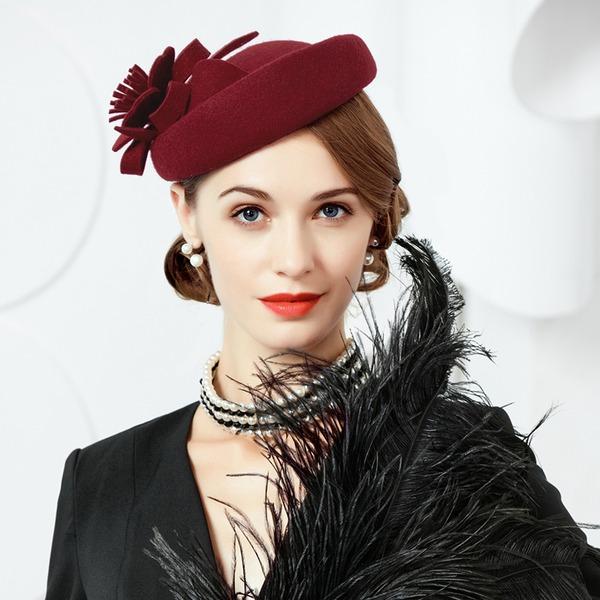 Dames Spécial/Romantique/Artistique Coton Calotte / ample/Chapeaux Tea Party