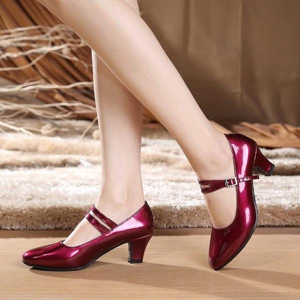 Femmes Similicuir Talons Escarpins Chaussures de Caractère Chaussures de danse