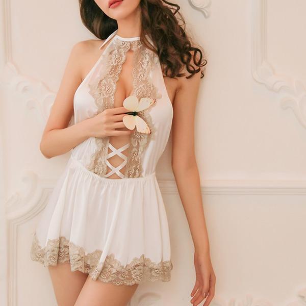 Polyester Klassische Art Weiblich Nachtwäsche