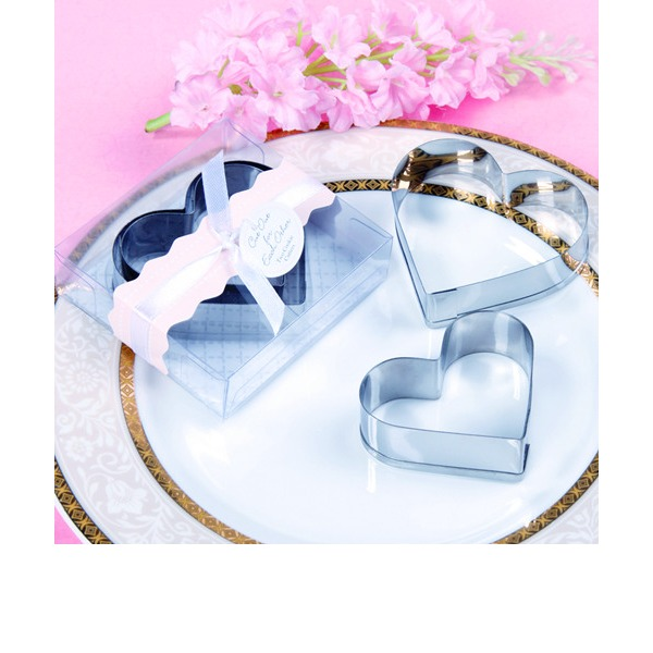 Heart Cookie Cutters Favor (Set of 2)