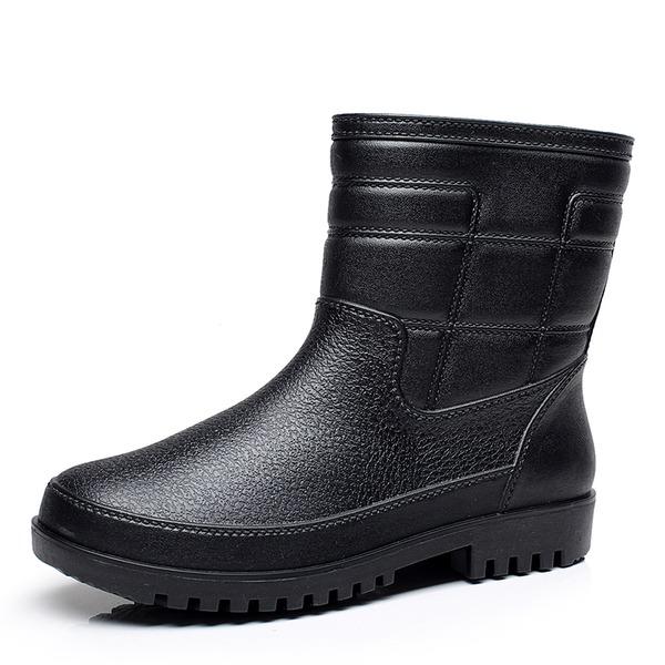 Homens Borracha Botas de chuva Casual Botas Masculinas