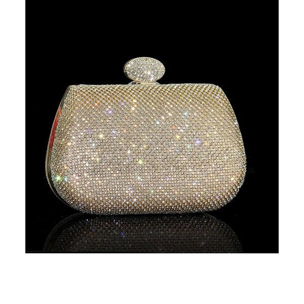 Glänzende Kristall / Strass Handtaschen/Wristlet Taschen/Umhängetasche