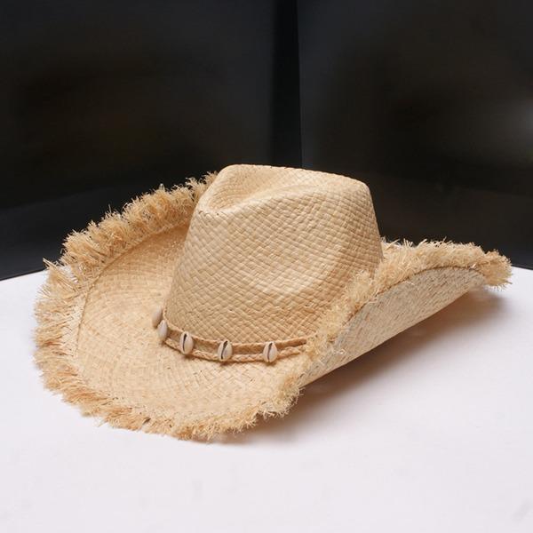 Män Hetaste Salt halm Halmhatt/Cowboyhatt