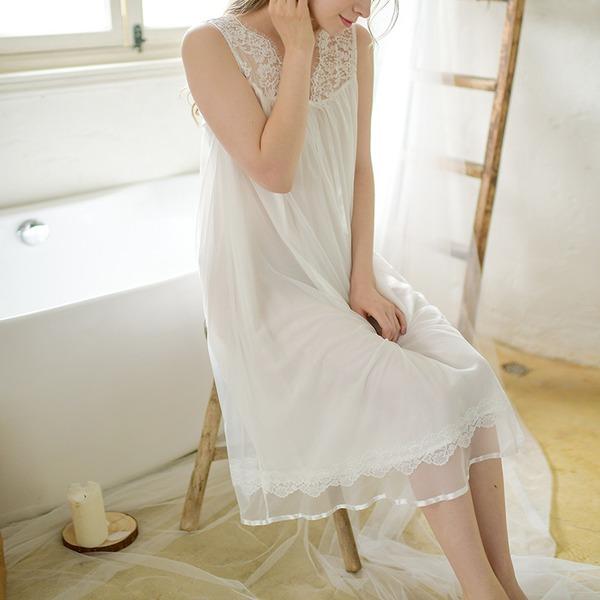 Renda/Algodão Nupcial/Feminino roupa de dormir