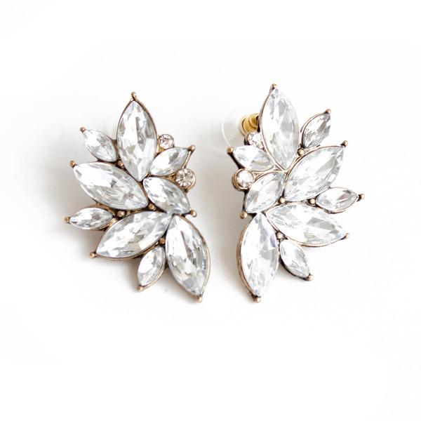 Ladies' Elegant Alloy Earrings For Bride/For Bridesmaid
