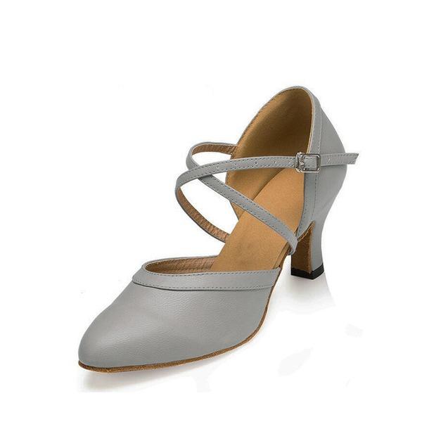 Kadın Suni deri Sandalet Balo Ile Ayakkabı Askısı Dans Ayakkabıları