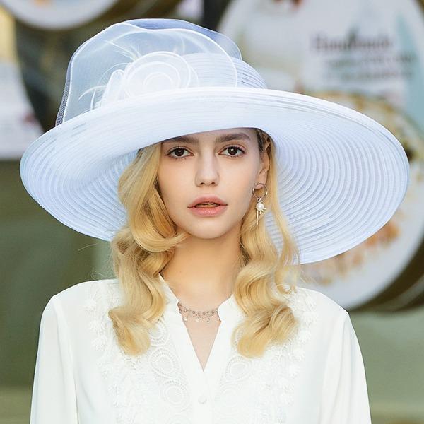 Bayanlar Nefis/Fantezi/bağbozumu Polyester Ile Tül Disket Şapka