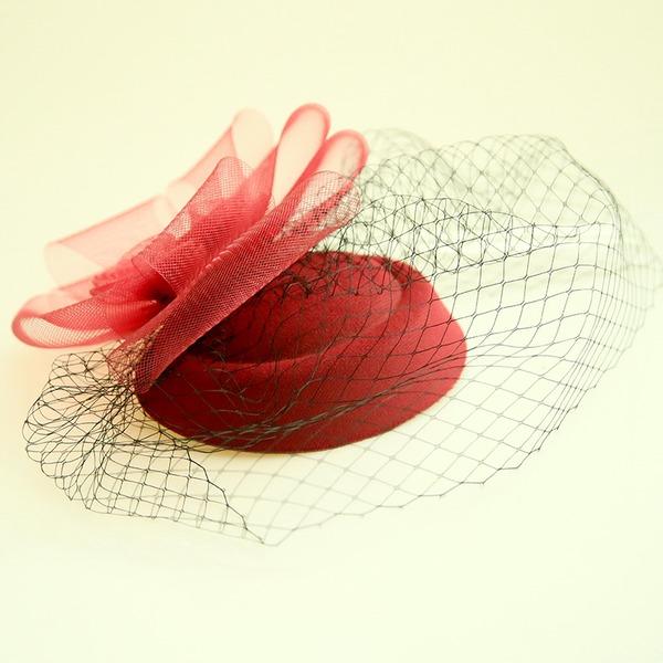Damer Vackra Och Netto garn/Flanell Panna smycken/Hatt