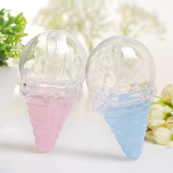 Creative/Lovely/Nice Ice cream Plastic Favor Boxes (Set of 12)