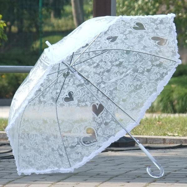 Plast Bröllops Paraplyer