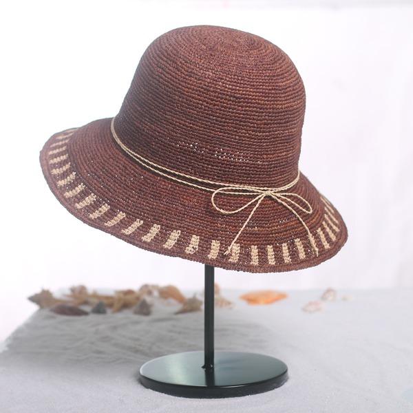 Dames Mode/Style Classique Raphia paille Chapeau de paille