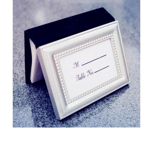 Klassische Art/Schön Metall Platz-Kartenhalter (In einem einzigen verkauft)