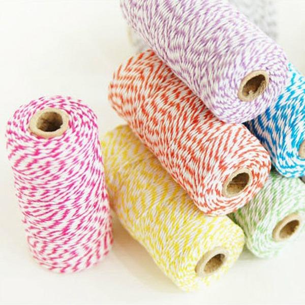Barvitý/10 M Bavlna Dekorační doplňky