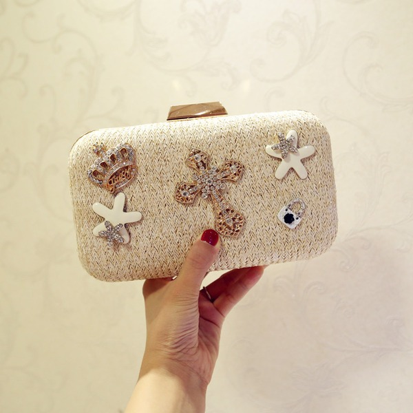 Elegant Straw Clutches