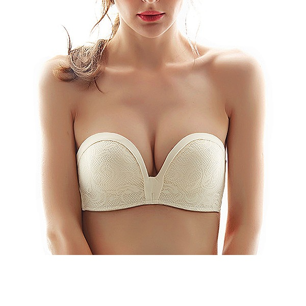 Cotton/Spandex/Nylon Wireless Bra