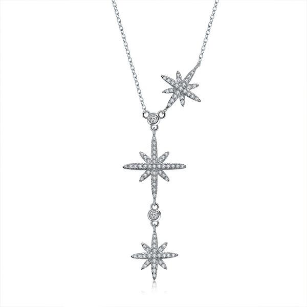 Красивая Циркон медь с Циркон Женщины ожерелье (Продается в виде единой детали)