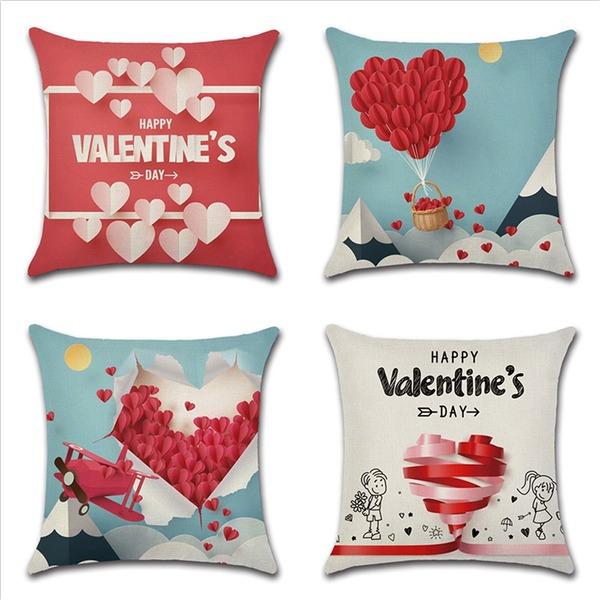 smukke elegant classic Linned Pillow Cover
