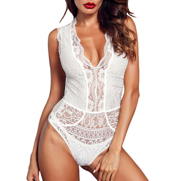 Romantic Polyester Wireless Bridal Lingerie/Teddies