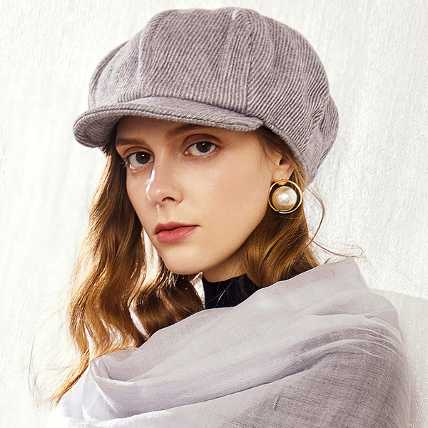 Ladies' Glamourous/Classic/Elegant Wool Blend Baseball Caps