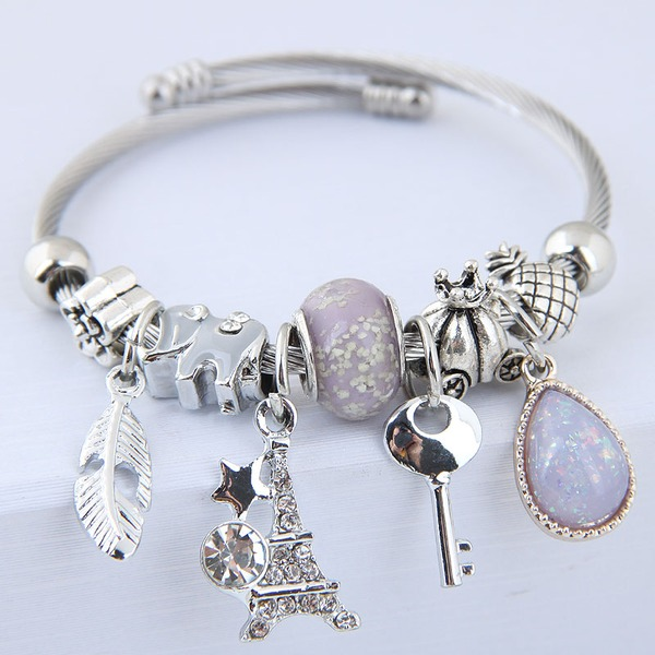 Classic Alloy Women's Fashion Bracelets (Sold in a single piece)