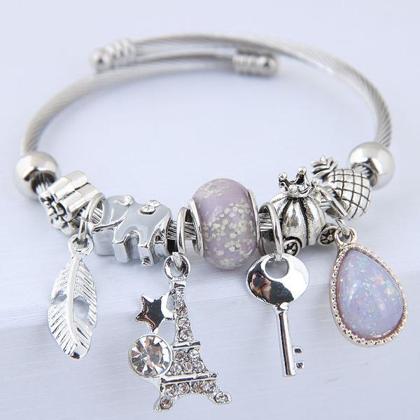 Style Classique Alliage Femmes Bracelets de mode (Vendu dans une seule pièce)