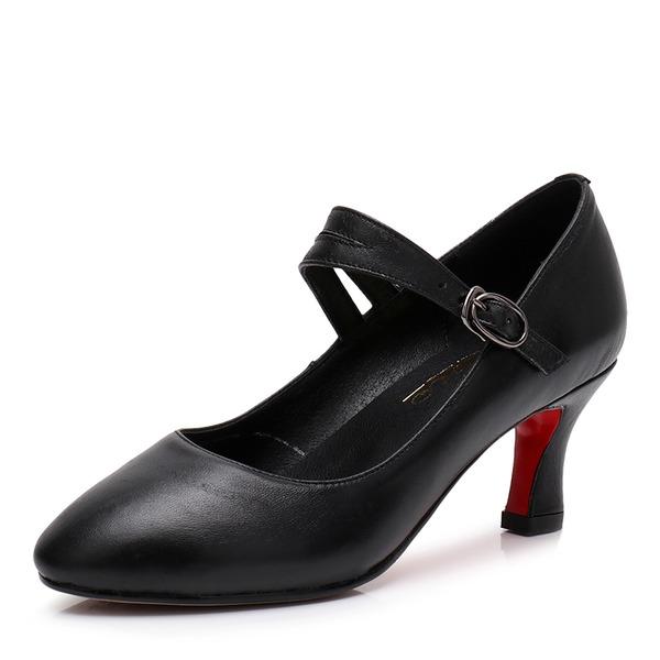 De mujer Piel Danza latina Estilo Moderno zapatos de personaje Zapatos de danza