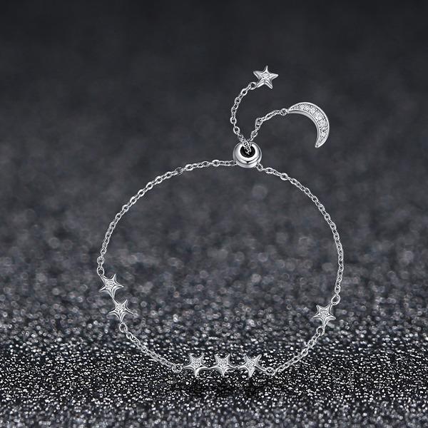 Enestående Silver Ladies ' Mode Armbånd