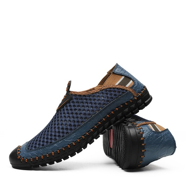 Men's Mesh Boat Shoes Casual Men's Loafers