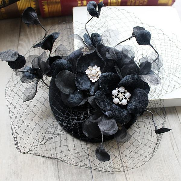 Dames Beau/Magnifique/Mode Fil net Chapeaux de type fascinator