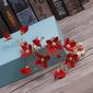Spécial Alliage/Fleur en soie Des peignes et barrettes avec Perle Vénitienne (Lot de 2)