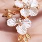 Damer Handmade Legering/Natural Shell Kammer og Barrettes med Venetianske Perle
