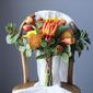 Przepiękny Ręcznie wiązanej Kwiat jedwabiu Bukiety ślubne -