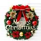 Vánoce PVC Domovní dekorace (Prodává se jako jeden kus)
