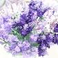 フラワーデザイン ニース/美しい花 シルクフラワー 人工花 (4本セット)