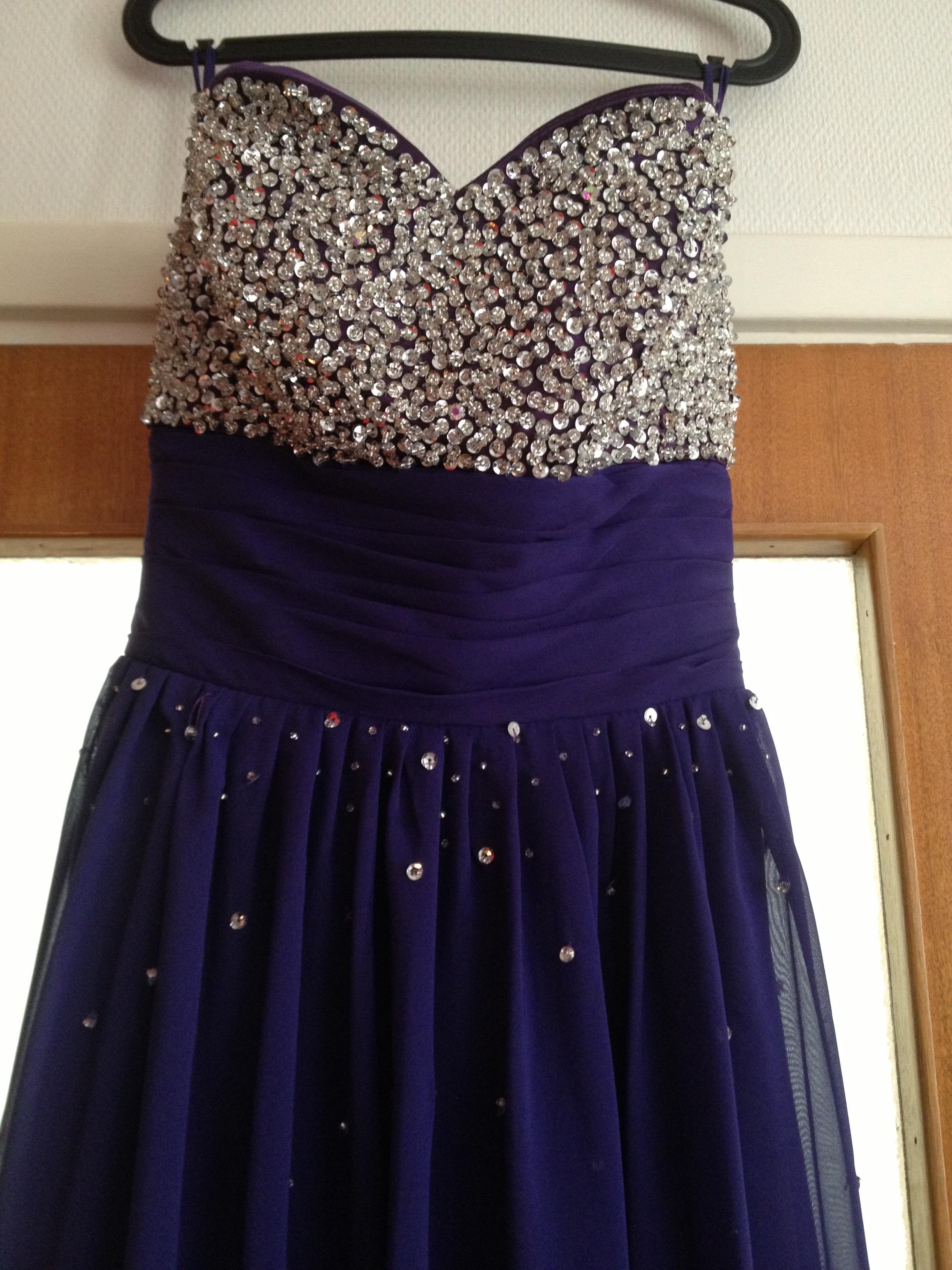 A Line Princess Sweetheart Floor Length Chiffon Prom Dress